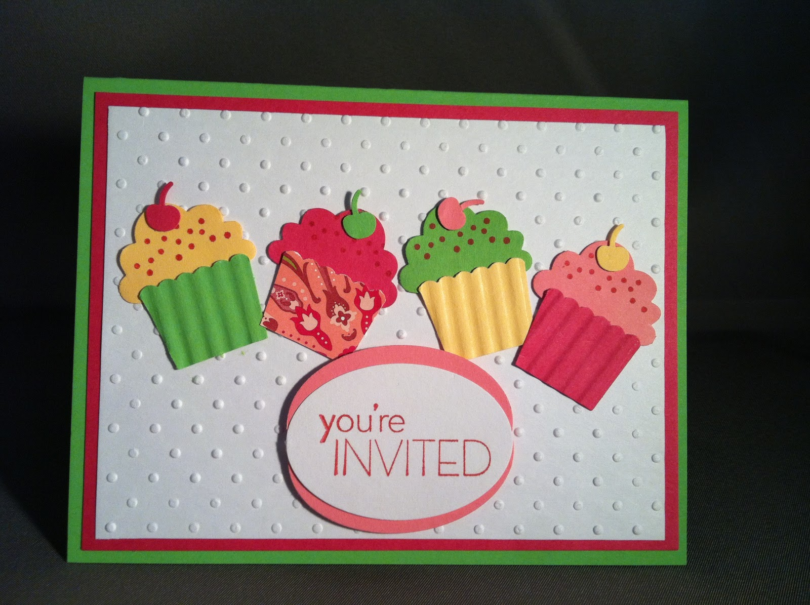 Cupcake Birthday Party Invites Life Is A Maker Faire